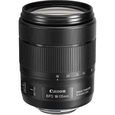 Canon 18-135mm f/3.5-5.6 Nano IS USM Lens Distribütör Garantili