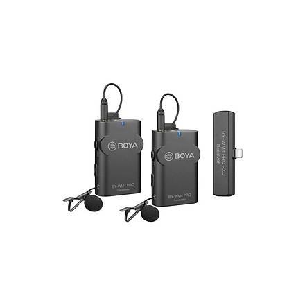 Boya By-Wm4 Pro-K4 Iphone Ikili Kablosuz Mikrofon