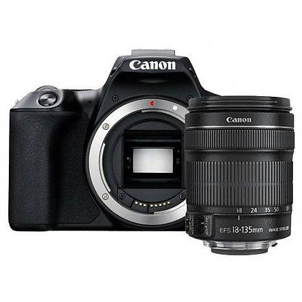 Canon EOS 250D 18-135mm IS STM Lensli Fotoðraf Makinesi