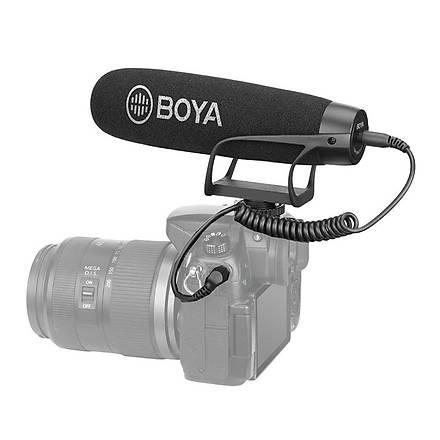 Boya BY-BM2021 Ses Kayýt CÝhazý Uyumlu Prof. Shotgun Mikrofon