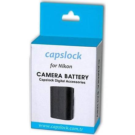 Nikon D3400 Batarya Pil * Capslock En-El14