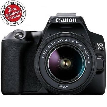 Canon EOS 250D 18-55 DC III DSLR Fotoðraf Makinesi