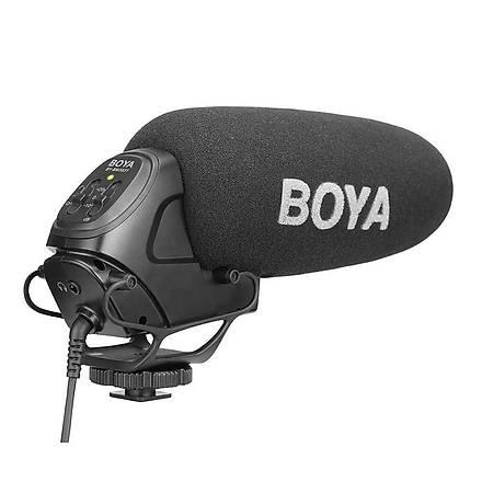 Boya BY-BM3031 DSLR Fotoðraf Makinesi Prof. Shotgun Tepe Mikrofon