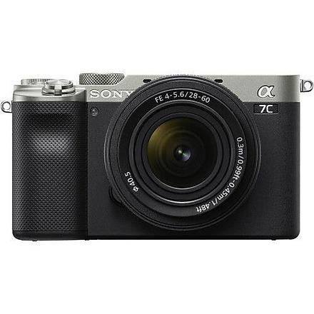 Sony A7c 28-60mm Lens Aynasýz Dijital Fotoðraf Makinesi Ýthalatcý Garantili