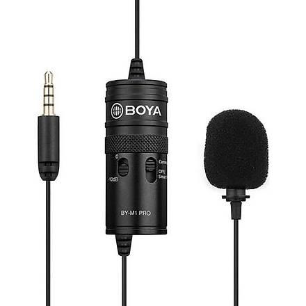 Boya By-M1 Pro Yaka Mikrofonu