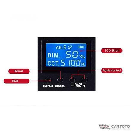 Gdx CF-LED 120W Video Led Iþýk