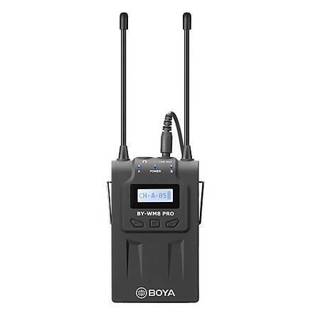 Boya BY-WHM8 Pro Canon Sony Nikon Uyumlu Kablosuz El Mikrofonu Se