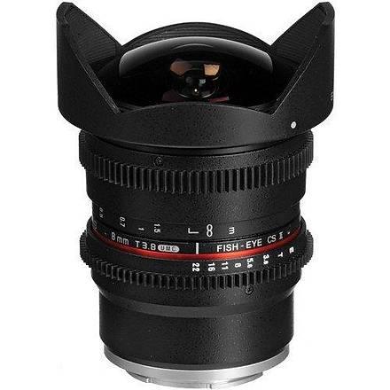 Samyang 8mm T3.8 VDSLR Sony E Uyumlu Lens