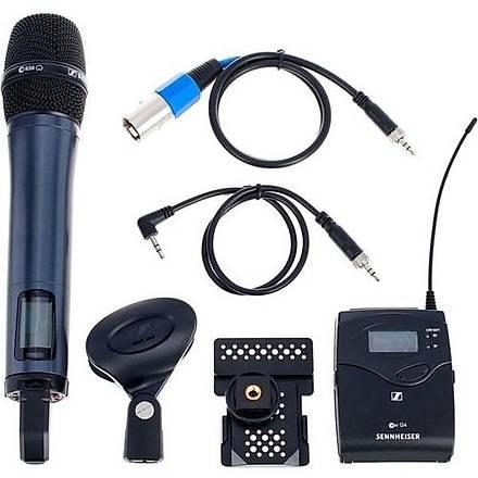 Sennheiser Ew 135 G4 El Tipi Telsiz Mikrofon