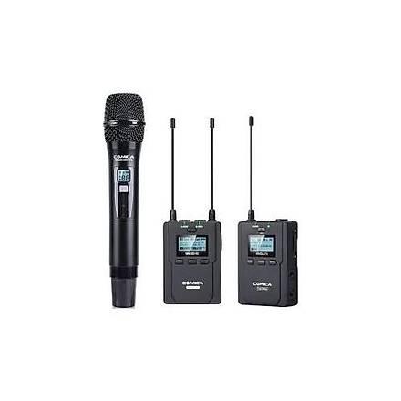 Comica CVM-WM200B 96 Kanal Ful Metal UHF Professional Mikrofon
