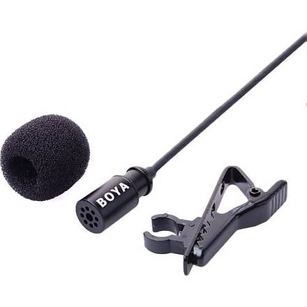 Sanger Boya By-Lm20 Gopro Ýçin Yaka Mikrofonu