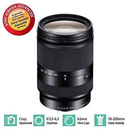 Sony SEL 18-200mm f/3.5-6.3 LE Tele Lens