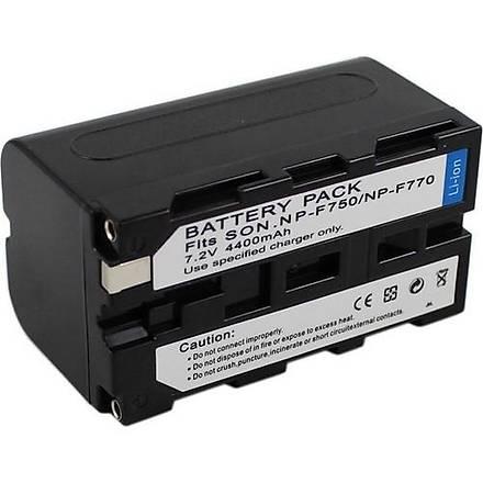 Sony NP F750 Kamera ve Led Batarya (4400 mAh)