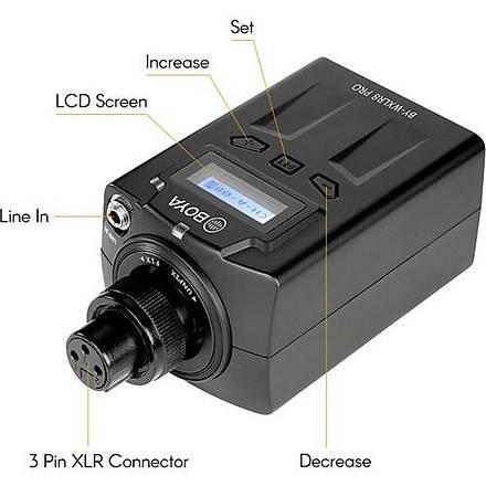 Boya BY-WXLR8 Pro Dinamik Mikrofon Vericisi
