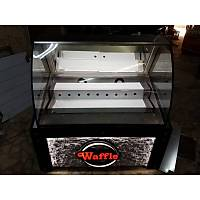 120 cm Led Işıklı Waffle Kumpir Dolabı