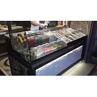 160 cm Led Iþýklý Waffle Kumpir Dolabý