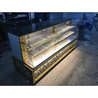 200 cm Gold Tasarým Kebap Pasta Dolabý