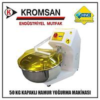 HNC 50 Kg Hamur Yoðurma Makinesi (Kapaklý Model)