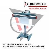 Lavion 35 cm Ayaklı Poşet Kapatma Makinası