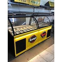 250 cm Iþýklý Waffle Kumpir Teþhir Dolabý