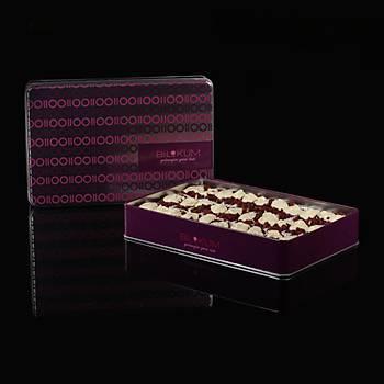 Zereçli Fildiþi Çikolatalý Lokum HÜMEYRA - Doyumluk