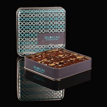 Antep Fýstýklý Tel Kadayýflý Çikolatalý Lokum NEFASET - Tadýmlýk