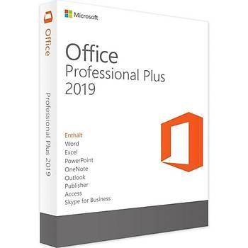 Office 2019 Pro Plus Dijital Lisans Anahtarý Key 32&64 Bit