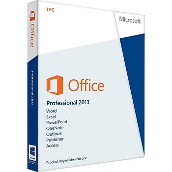 Office 2013 Pro Plus Dijital Lisans Anahtarý Key 32&64 Bit