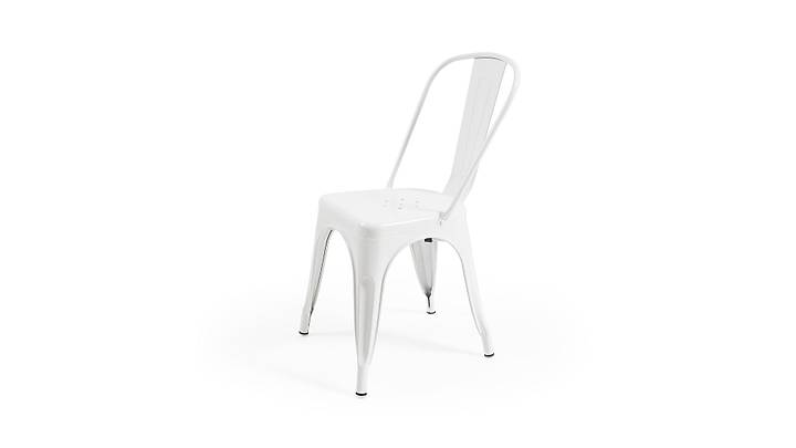 Tolix Sandalye Beyaz