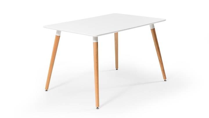 Eames Dikdörtgen Beyaz Masa