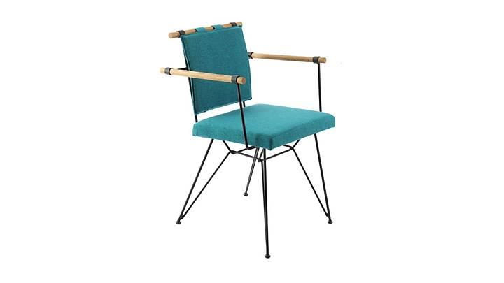 Loft Metal Ahşap Sandalye