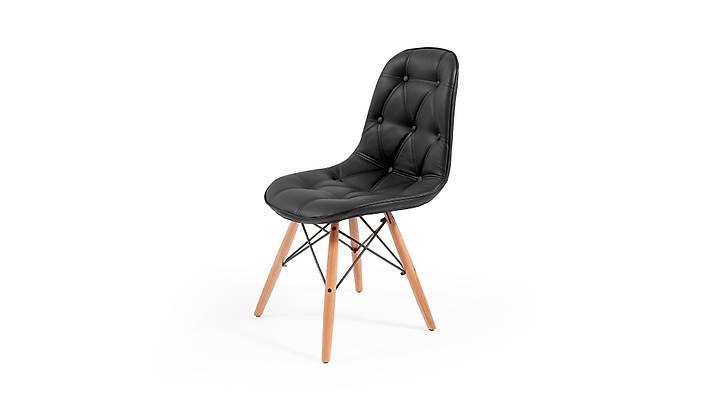 Eames Sandalye Siyah