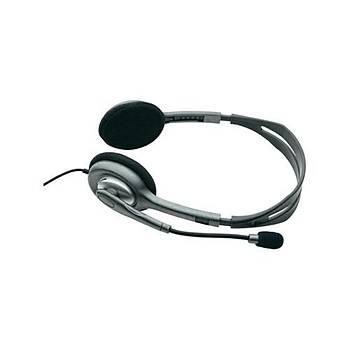 Logitech H110 Mikrofonlu Kulaklýk 981-000271