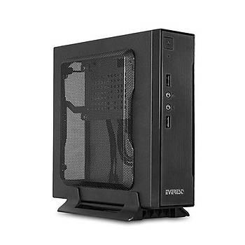 Everest M200 Siyah Mini ITX Kasa Siyah