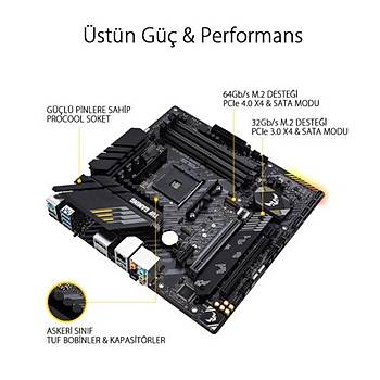 Asus TUF GAMING B550M-PLUS DDR4 S+V+GL AM4