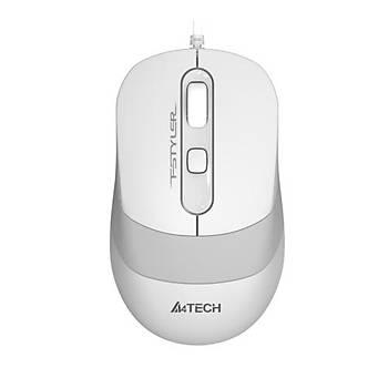 A4 Tech FM10 Mouse / Usb / Beyaz 1600DPI