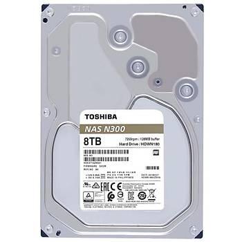 Toshiba 3,5 N300 8TB 128MB 7200RPM HDWN180UZSVA