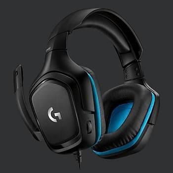 Logitech G432 Wired Gaming Kulaklýk 981-000770
