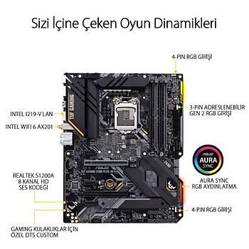 Asus TUF Z490-PLUS (WIFI) GAMING DDR4 S+V+GL LGA12