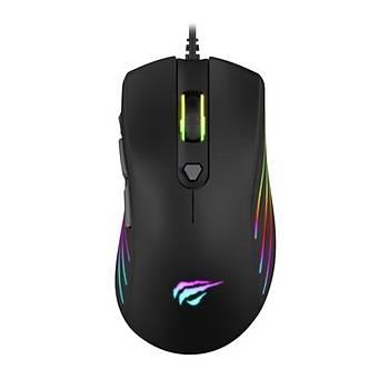 GameNote MS1002 Kablolu RGB Gaming Mouse Siyah