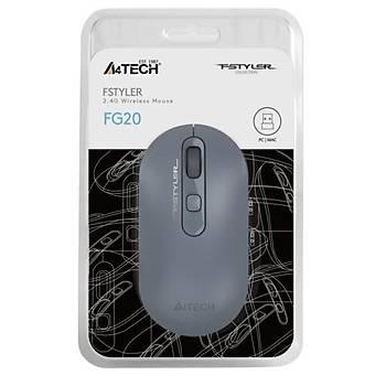 A4 Tech FG20 Kablosuz Mouse Mavi - 2000DPI