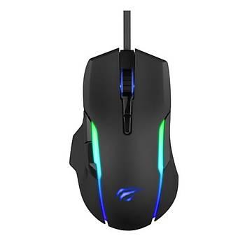 GameNote MS1012A  Kablolu RGB Gaming Mouse Siyah
