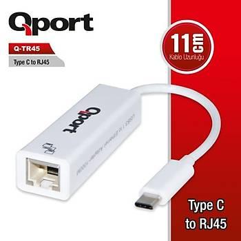 Qport Q-TR45 TYPE-C TO RJ45 Çevirici