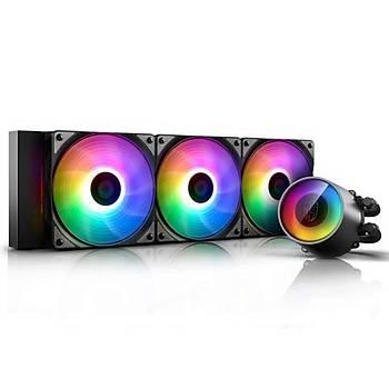 Deep Cool Castle 360R v2 RGB 240mm Sývý CPU Soðt.