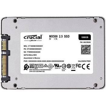 Crucial MX500 1TB SSD Disk CT1000MX500SSD1