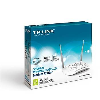 TP-Link TD-W8961N 300Mbps ADSL2 + Kablosuz Modem
