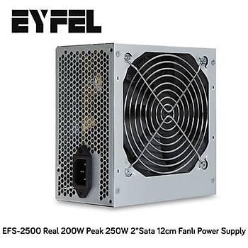Eyfel EFS-2500 Real 200W Güç Kaynaðý
