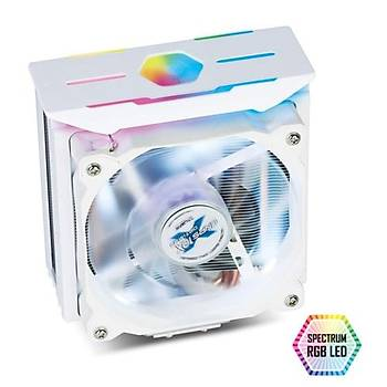 Zalman CNPS10X OptimaII Spec. RGB 12cm CPU F.Beyaz