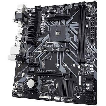 Gigabyte B450M-S2H S+V+GL DDR4 AM4 (mATX)