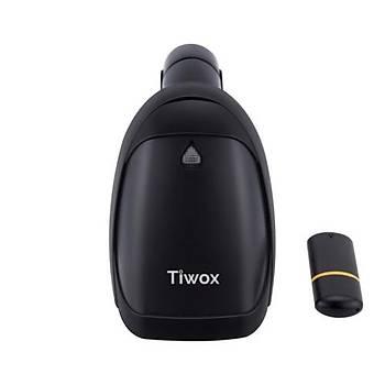 Tiwox VSK-118 2D Kablosuz Barkod Okuyucu+Batarya